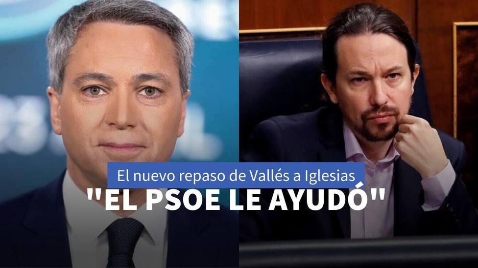 Vicente Vallés y Pablo Iglesias