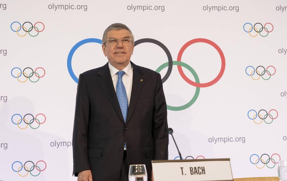 Thomas Bach, actual presidente del COI