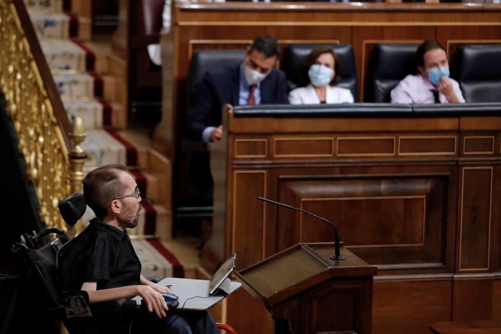 El Congreso aplaza la obra para facilitar el acceso de Echenique al hemiciclo