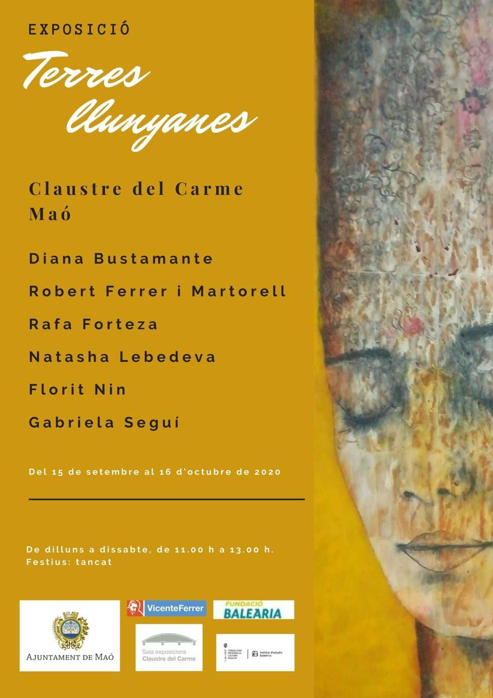 La exposición Tierras Lejanas llega, este martes, en el Claustro del Carmen de Mahón