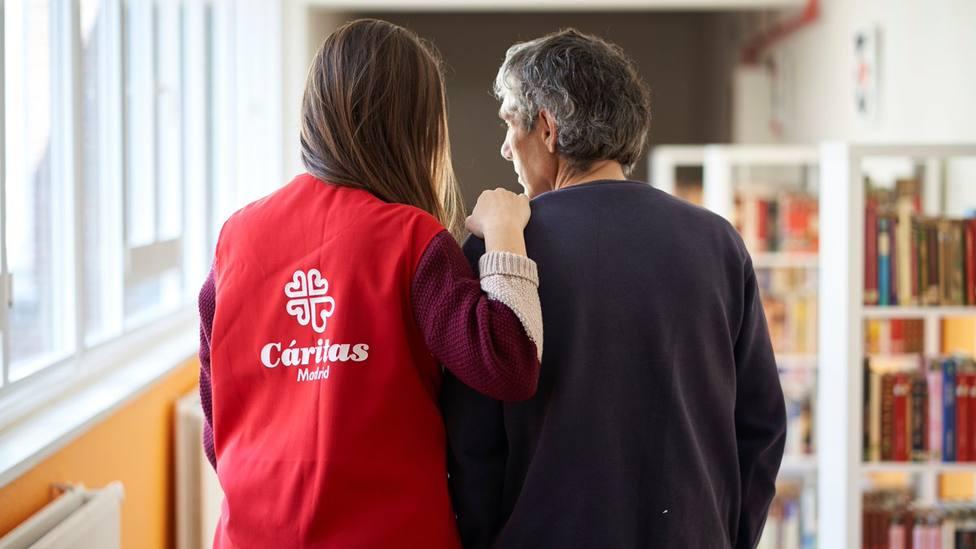"""El trabajo de Cáritas Madrid con los más vulnerables: """"Hemos sacado a familias de lugares infrahumanos"""""""