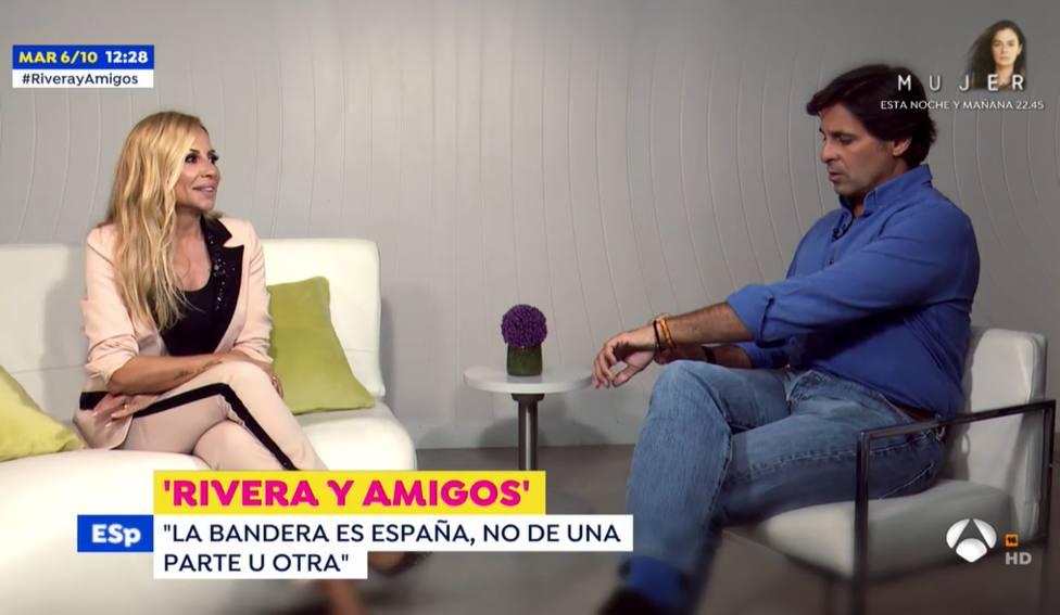 Marta Sánchez y Fran Rivera en Espejo Público (Antena 3)