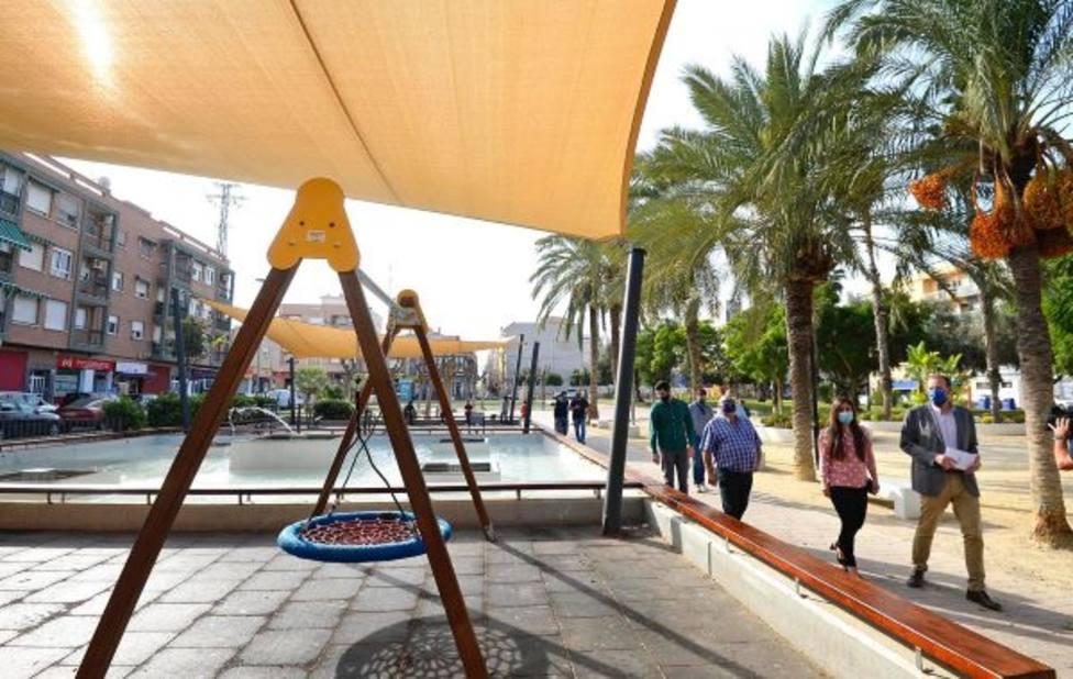 El Plan Sombra crea espacios más confortables en el jardín Aljada de Puente Tocinos