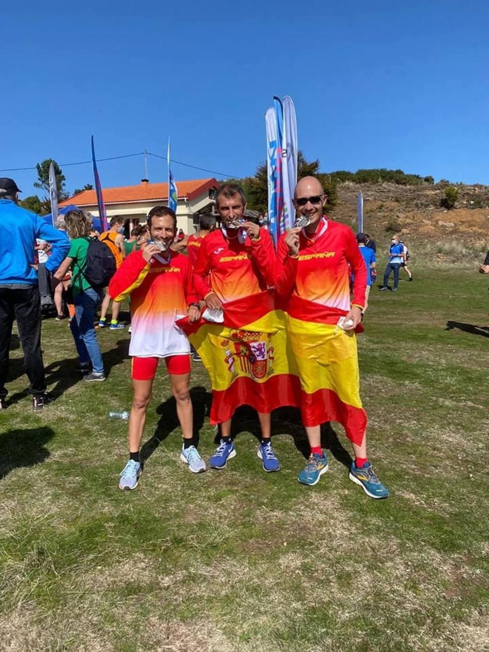 El Club Atletismo Nogalte, oro en Portugal