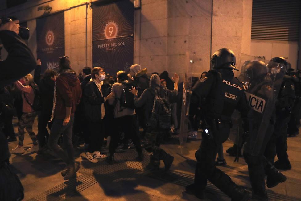 Un sindicato policial baraja llevar a la Fiscalía el tuit de Echenique por respaldar las violentas protestas