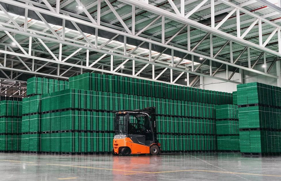 Instalaciones del proveedor de elementos de logística de Mercadona Logifruit - MERCADONA