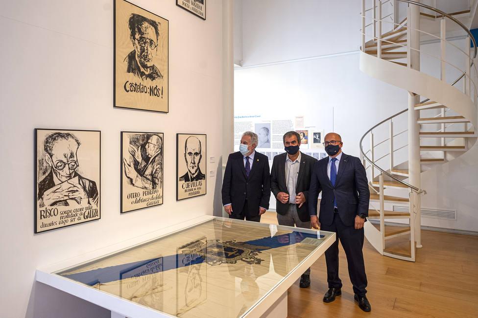 Visita a la exposición Galicia de Nós a nós