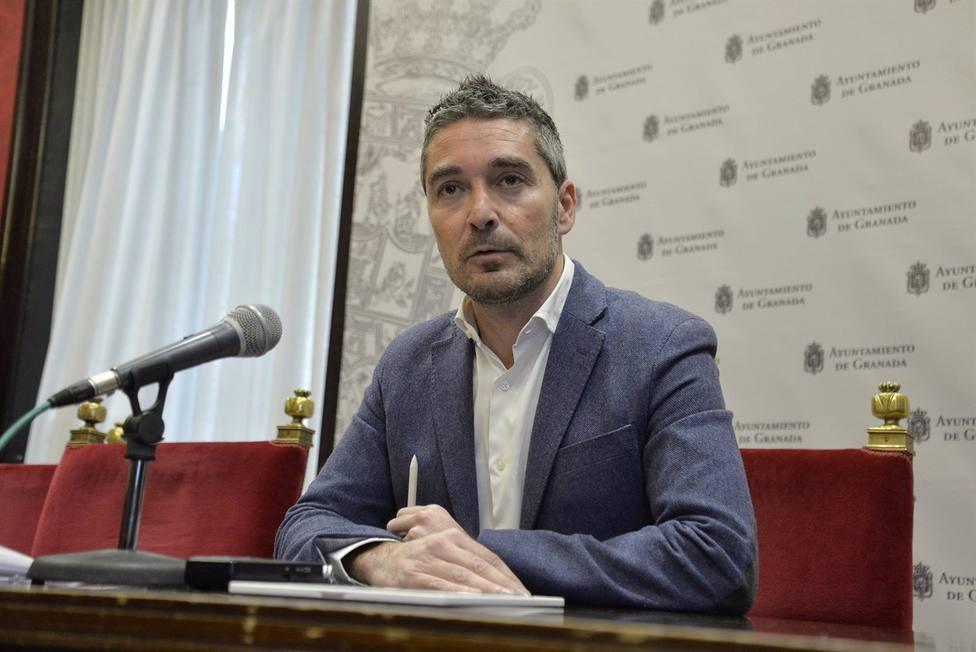 Granada.- El portavoz del Grupo de Cs en el Ayuntamiento apunta a un pacto con el PP para el relevo en la alcaldía