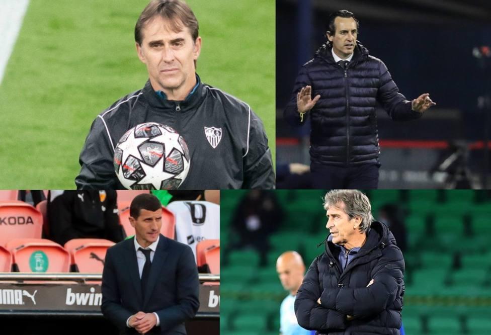 Los entrenadores de los equipos españoles, en contra de la Supercopa