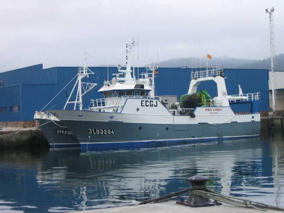 Pesquero Pino Ladra, con base en Celeiro