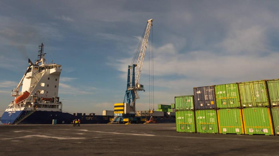 El Puerto de Motril es el 3º que más ha crecido en tráfico de mercancías en este primer trimestre
