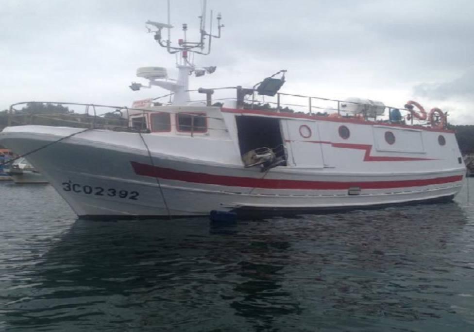 """Foto de archivo de buque pesquero """"Peruca"""", con base en Lorbé - FOTO: Salvamento Marítimo"""