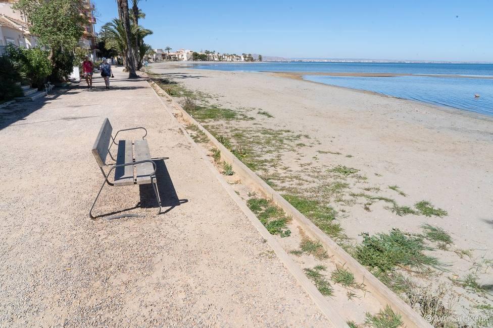 El Gobierno licita por más de un millón de euros la construccion del paseo marítimo de Los Urrutias