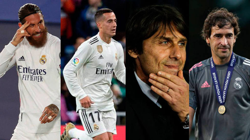 Segio Ramos, Lucas Vázquez, Conte y Raúl, protagonistas en el Real Madrid