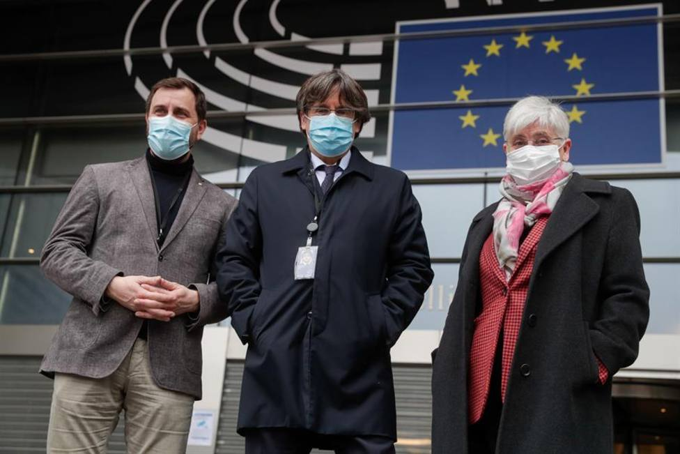 Carles Puigdemont recupera la inmunidad como eurodiputado de forma provisional