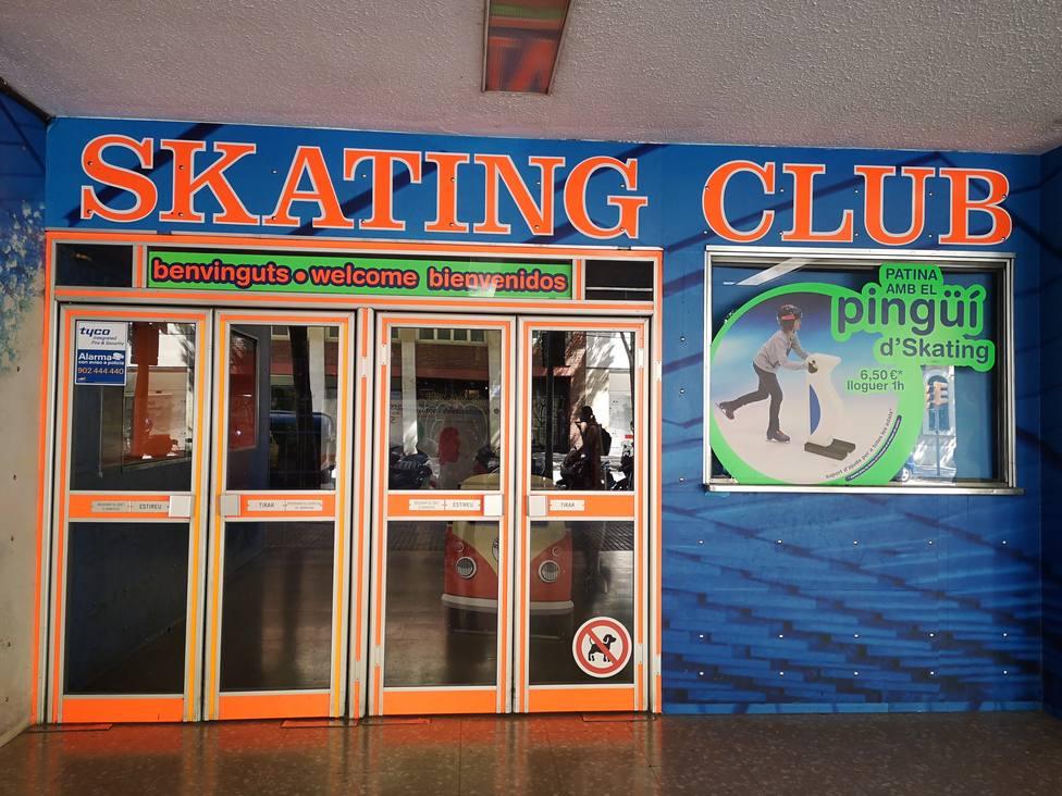 Entrada Skating Club, Barcelona