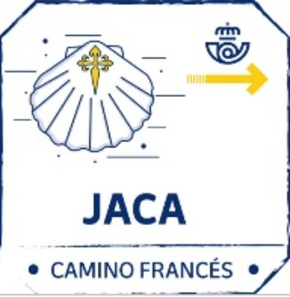 Sello específico para la credencial digital del peregrino en Jaca