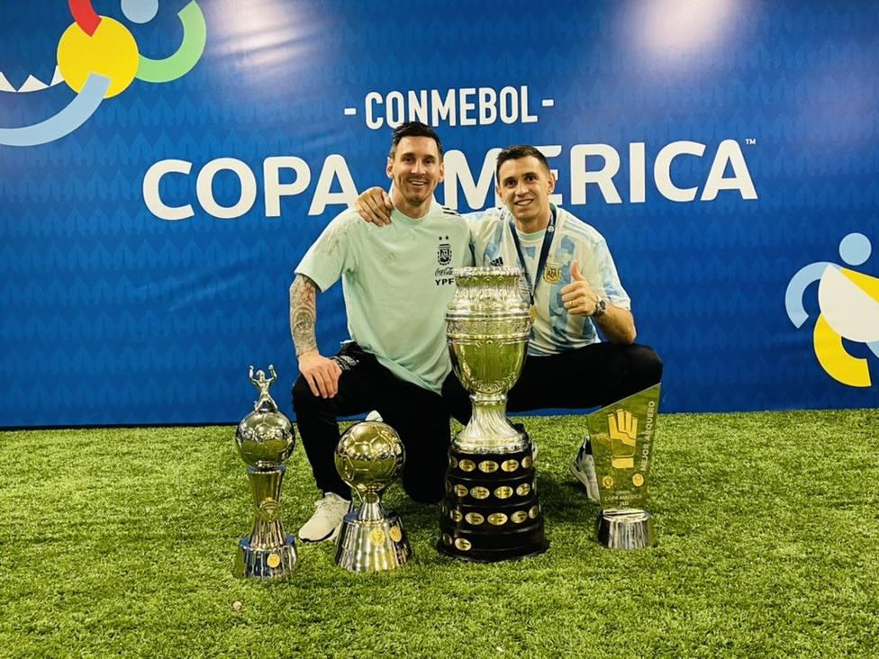 Emiliano Martínez: Yo soy Vegeta y cuando jugué con Messi me hice Súper Saiyajin