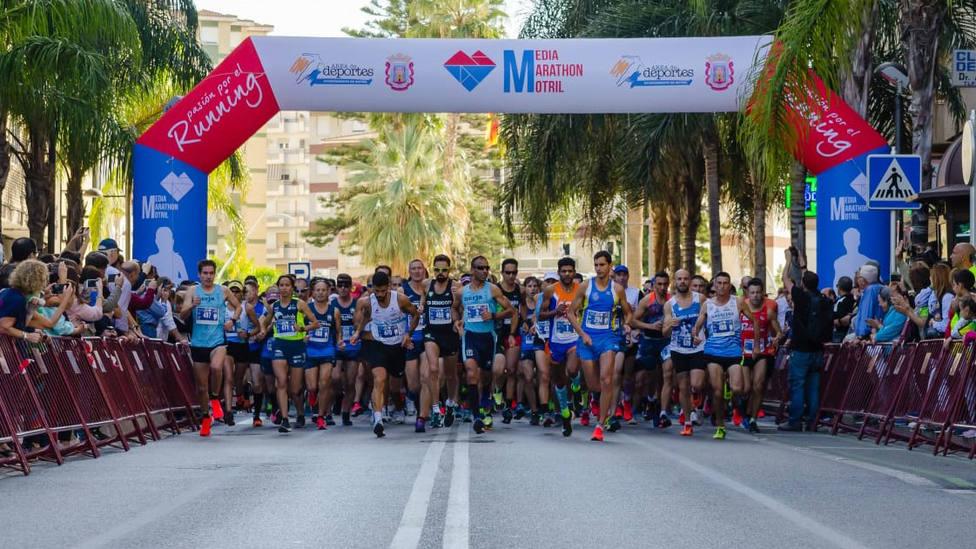 Vuelve la ilusión, la XXVII Media Maratón de Motril se celebrará el 31 de octubre