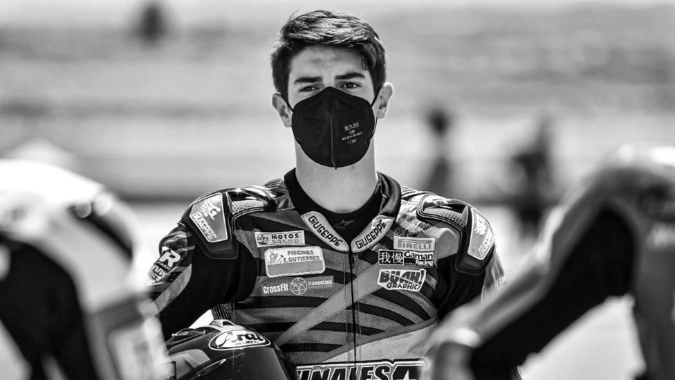 Jerez se conduele por la muerte en su circuito del joven piloto Dean Berta Viñales