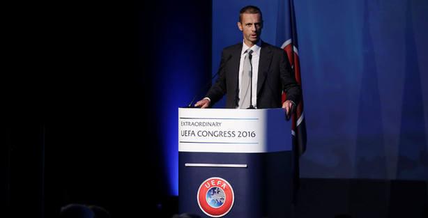 Aleksander Ceferin era el presidente de la Federación Eslovena de Fútbol. Reuters.
