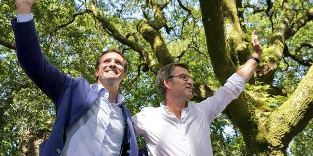 Feijoo y Casado abren el curso político en Cerdedo-Cotobade