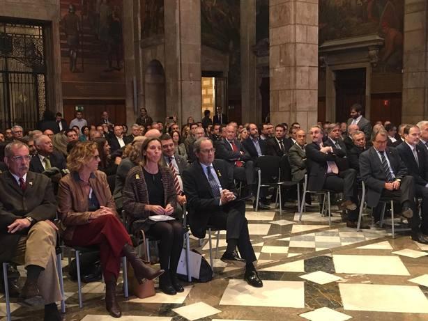Torra y Chacón reivindican la acción exterior de la Generalitat como factor clave de la economía