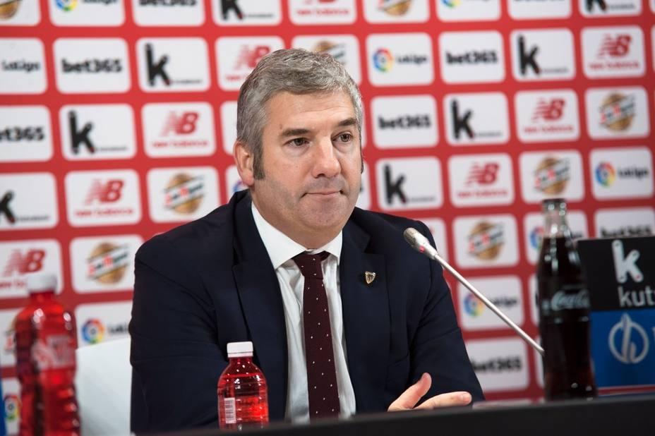 Urrutia no se presentará a las elecciones de final de año y dejará de ser presidente del Athletic