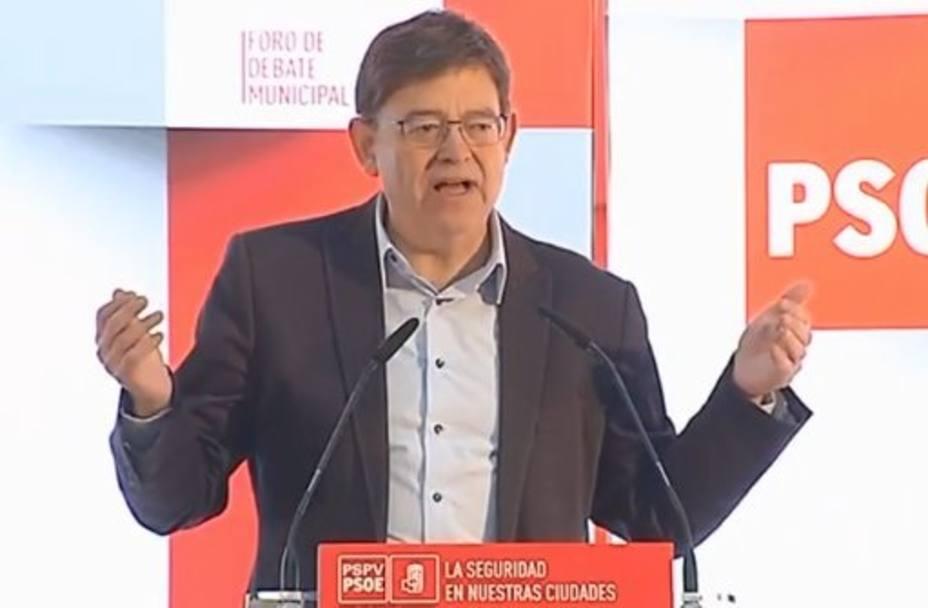 Ximo Puig rechaza la salida inmediata de Susana Díaz y dice que todo el mundo debe asumir sus responsabilidades