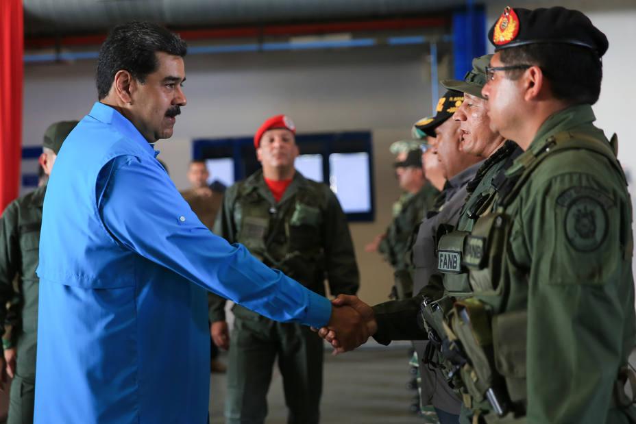 Maduro rechaza el show de la ayuda humanitaria y denuncia el bloqueo de casi 10.000 millones de dólares