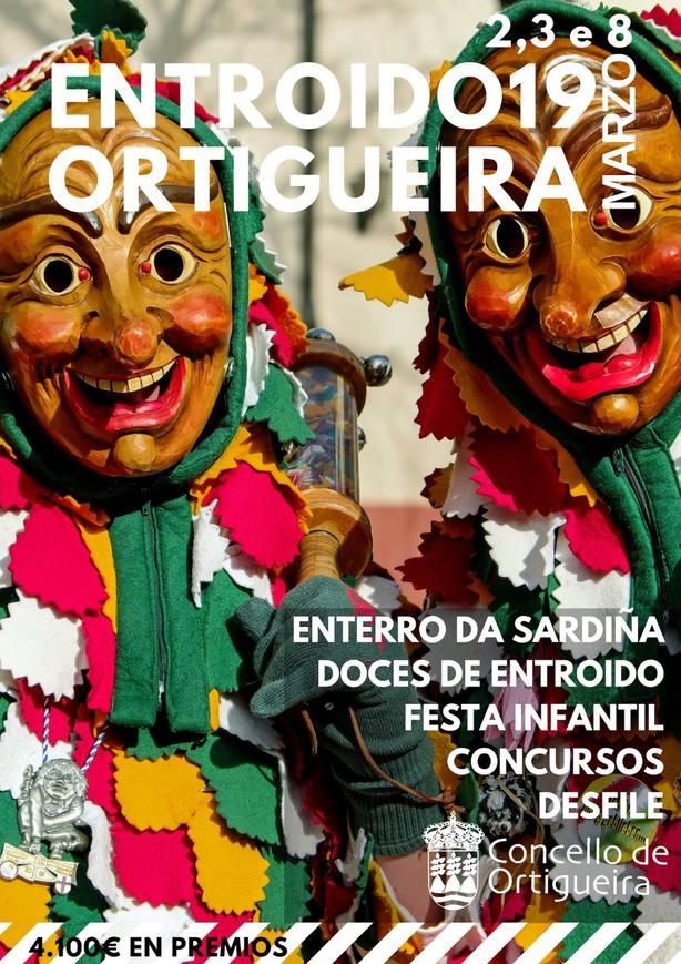 Este es el cartel del Entroido de Ortigueira