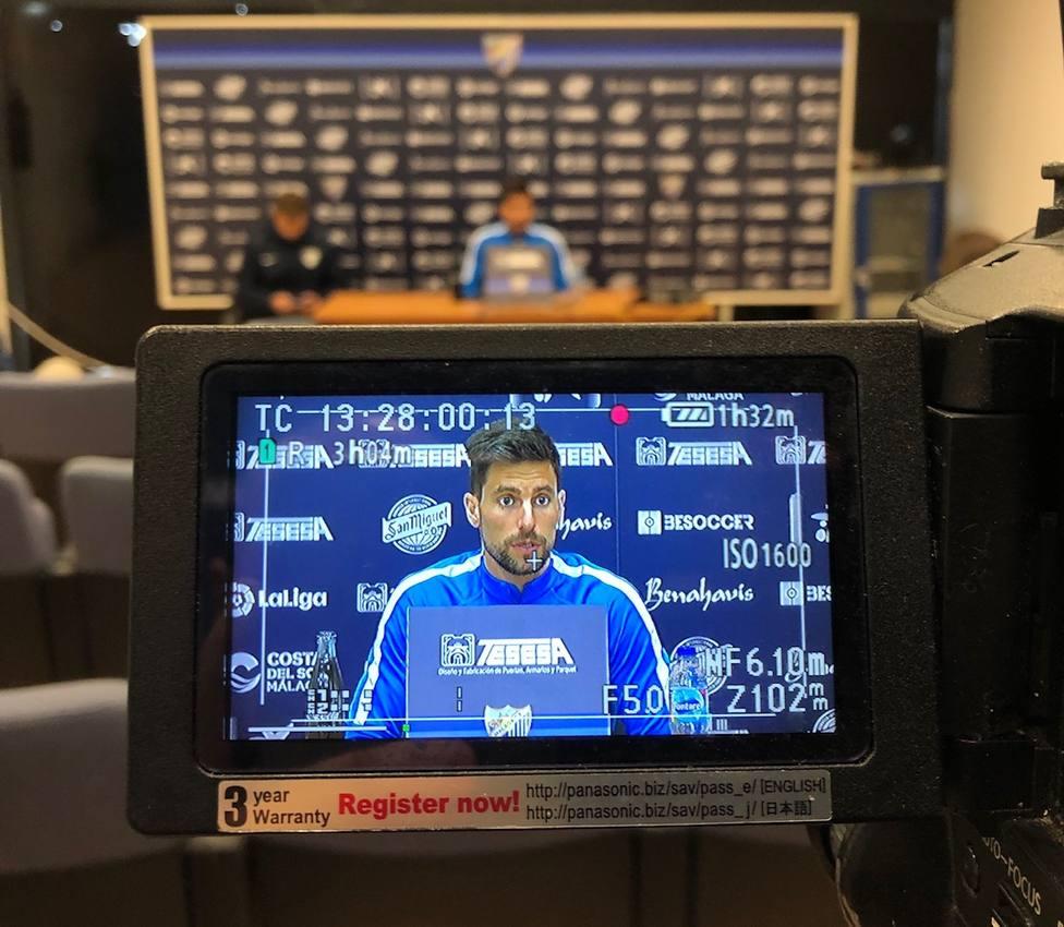 Adrián: Somos el Málaga, podemos ganar todos los partidos