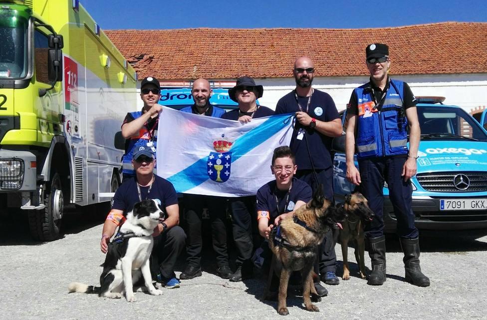 Integrantes de Casaga y de Axega desplazados a Portugal - FOTO: CASAGA