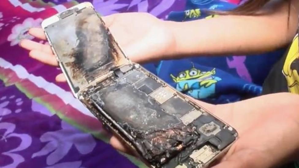 Explota en la cama el iPhone 6 de una niña de 11 años