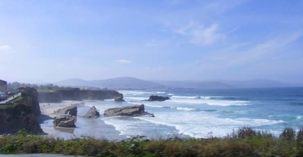 Playa de Lóngara, en el municipio de Barreiros