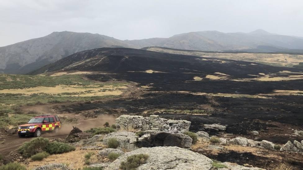 Comunidad de Madrid comienza la recuperación de las zonas quemadas de El Berrueco, Miraflores y Rascafría