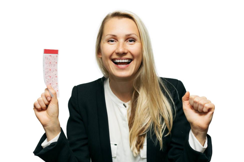 Ganan un millón en la lotería gracias a un juguete que escoge los números por ti