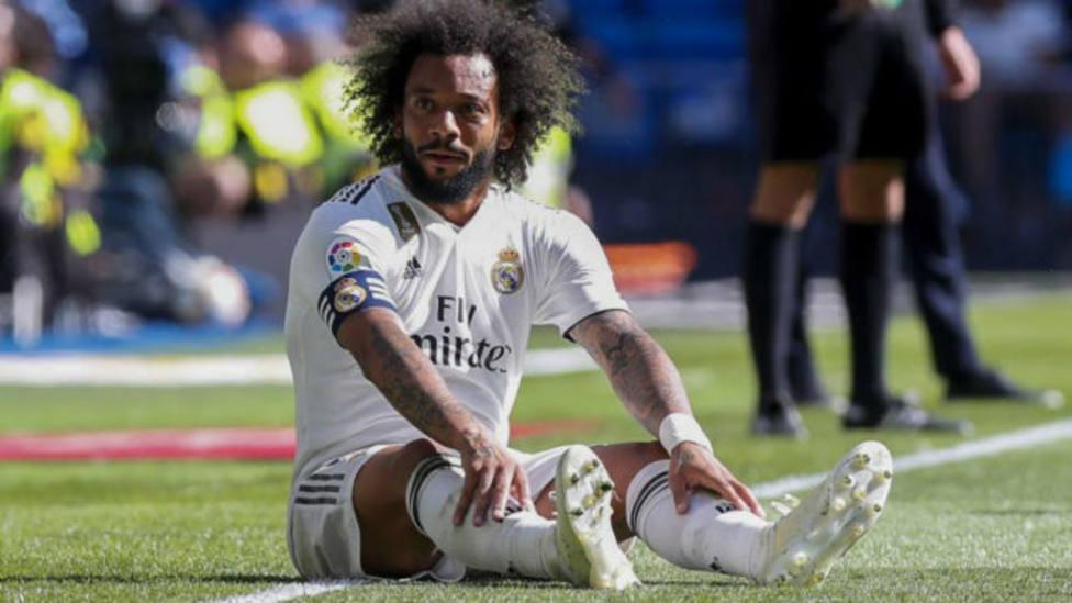 Marcelo sufre una cervicodorsalgia postraumática y es baja para el partido frente al PSG