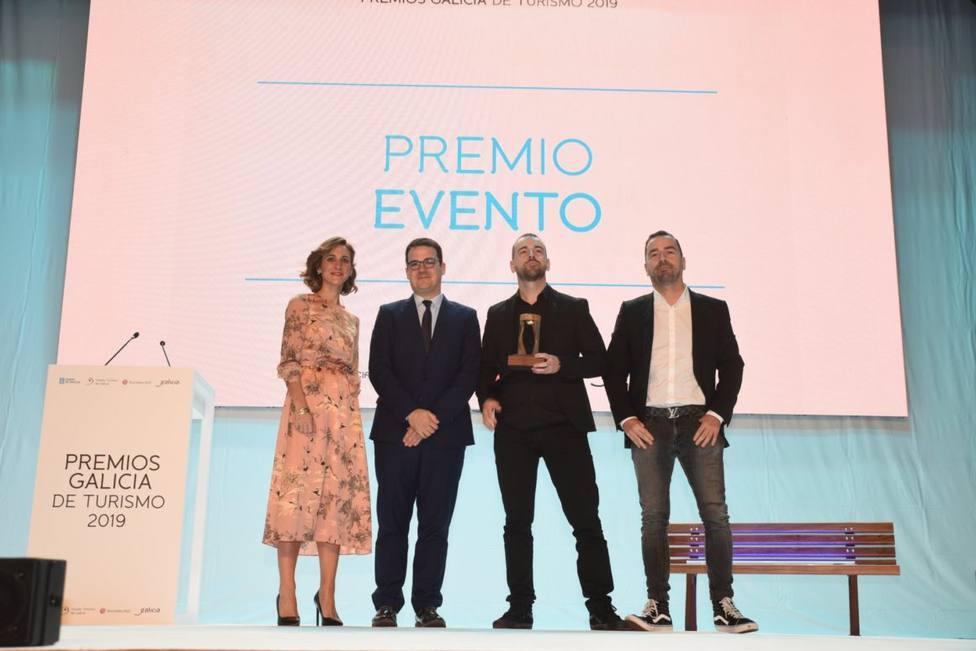 Entrega del Premio Evento a los hermanos Méndez