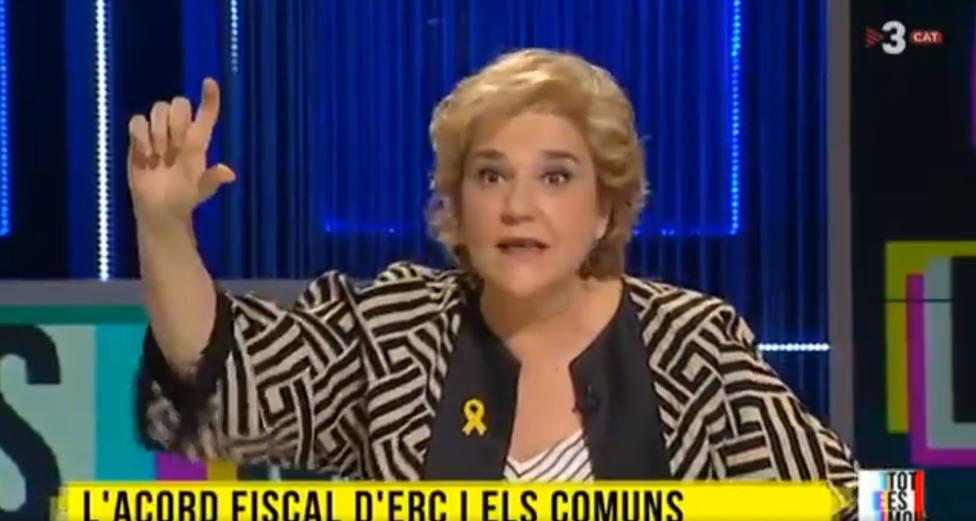 Pilar Rahola la lía en TV3 por su opinión sobre la gente que gana 6.000 euros al mes