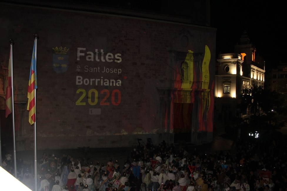 Crida de las fallas 2020 en Burriana