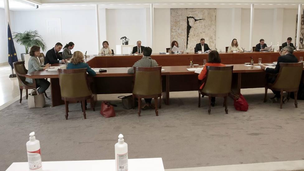 Consejo de Ministros extraorinario para elaborar el Real Decreto de Estado de Alarma por el coronavirus