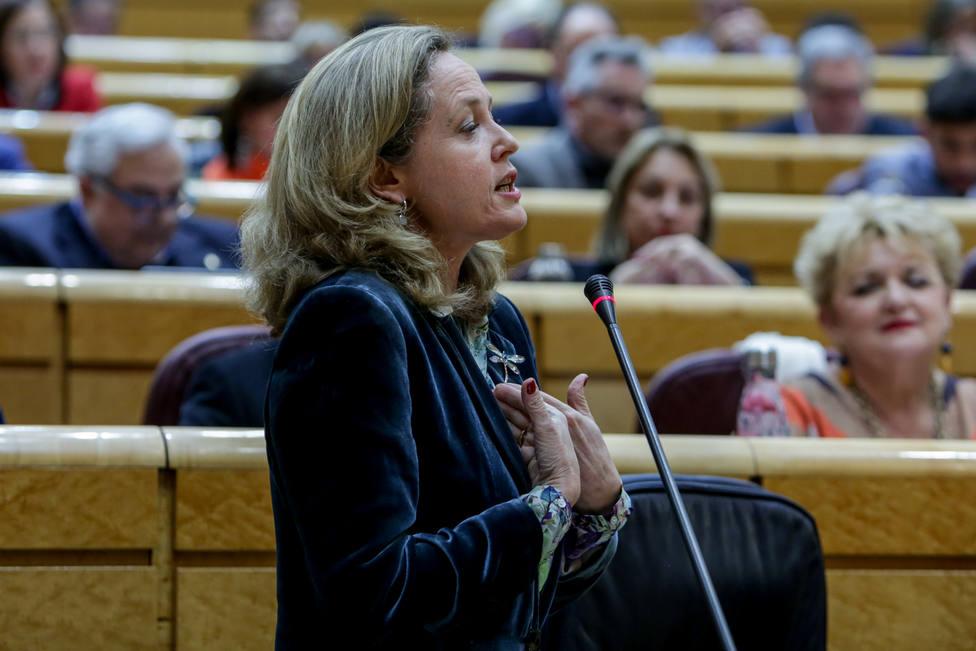 Calviño pide a Europa una verdadera respuesta y más ambición frente a la crisis del Covid-19