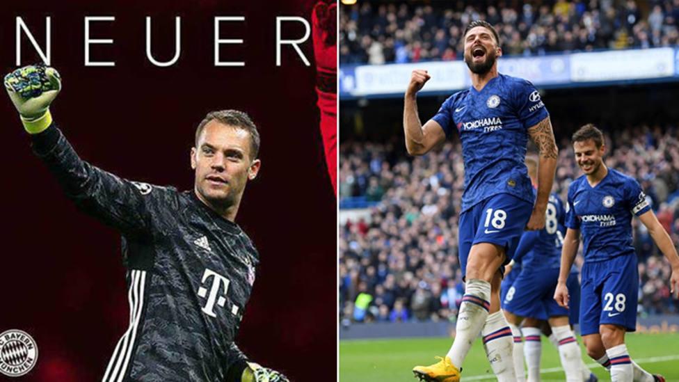 Manuel Neuer renueva con el Bayern hasta 2023; Giroud, una temporada más con el Chelsea