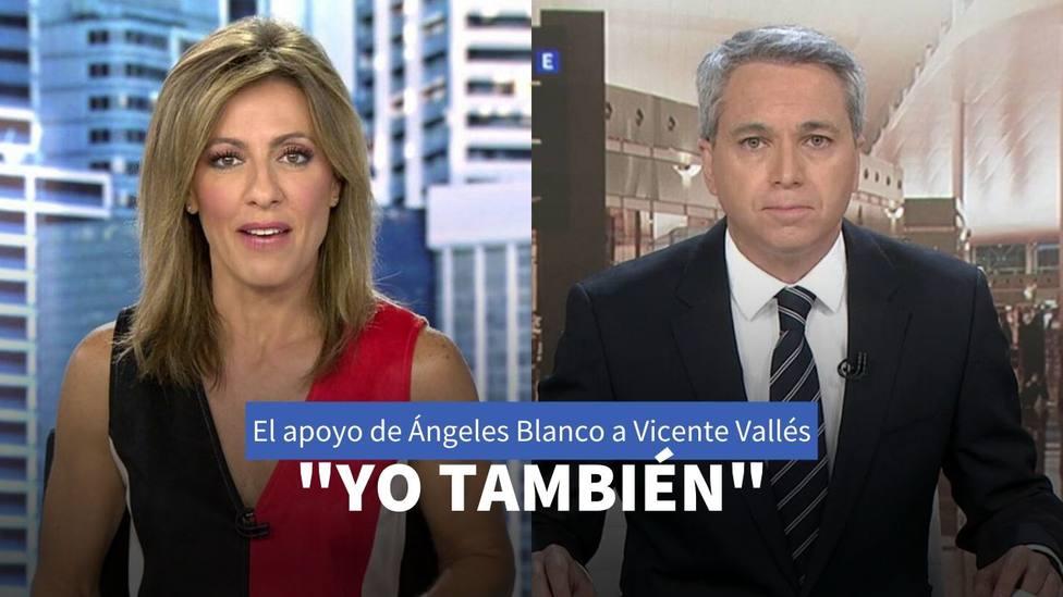 Ángeles Blanco y Vicente Vallés