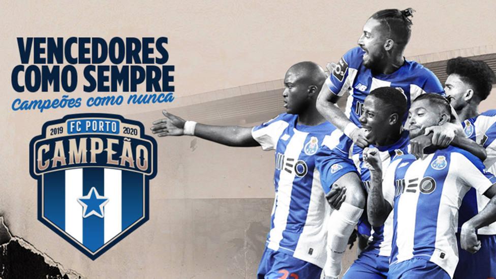 El Oporto se proclama campeón de la liga portuguesa