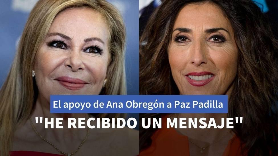 Ana Obregón y Paz Padilla