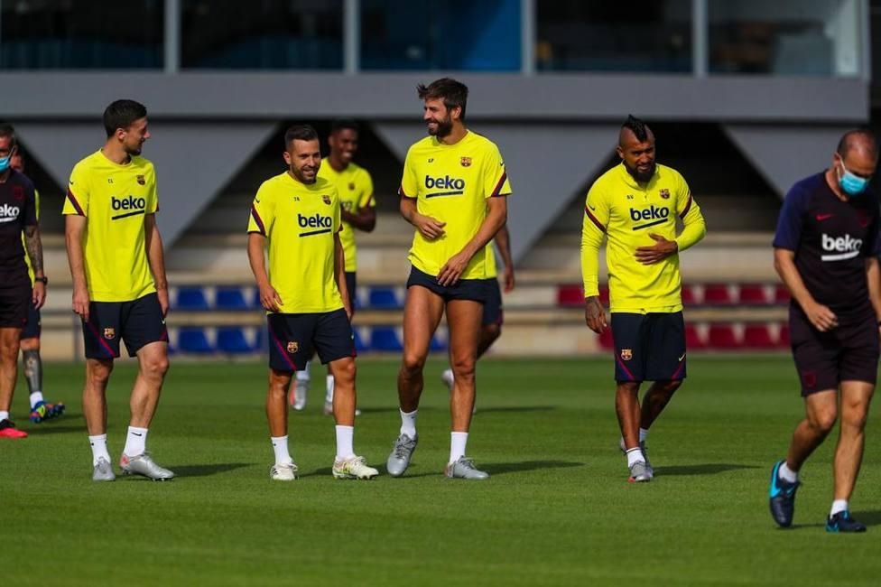 Prudencia con Dembélé en el Barça