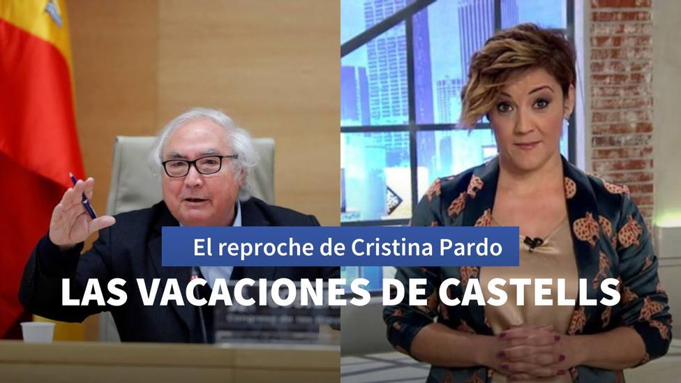 El reproche de Cristina Pardo al desaparecido ministro de Universidades