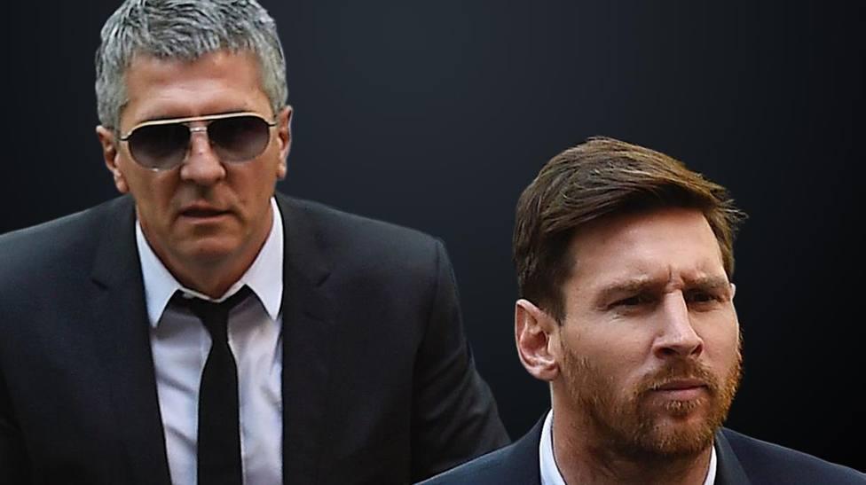 Leo y Jorge Messi